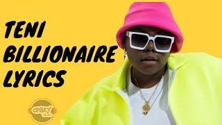 Teni - Billionaire (Lyrics).mp3