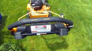 CRAFTSMAN 28 INCH PUSH MOWER IN ACTION - 5-12-2016