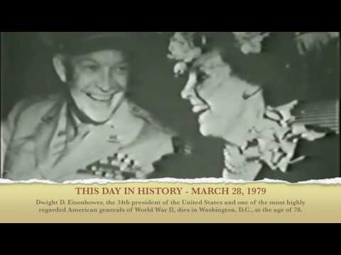 Today in History March 28, 1969 - Dwight D. Eisenhower, the 34th president dies at the age of 78.