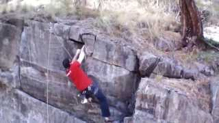 Small wall climb with ardrone 2.0