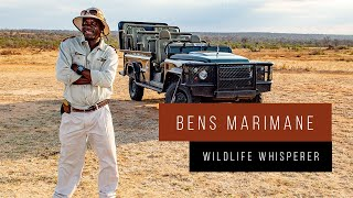 "Meet South Africa with Bens Marimane, the ""Wildlife Whisperer"""