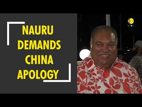 Nauru demands apology from China for 'disrespect' at Pacific forum