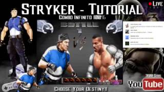 Video Live - Infinita Stryker 100% -  Umk3 Snes download MP3, 3GP, MP4, WEBM, AVI, FLV Juni 2018
