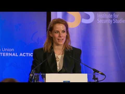 HRVP Mogherini, Javier Solana and Joshcka Fischer talk EU defence