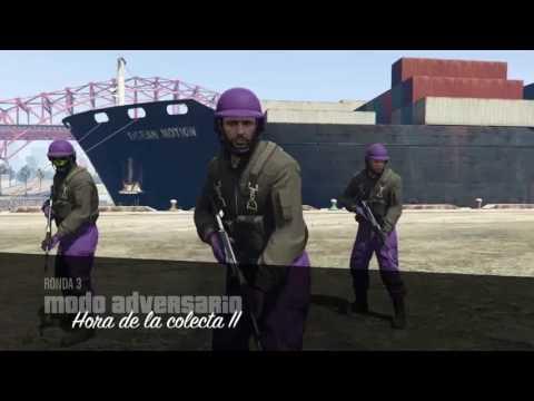 GTA V ONLINE HORA DE LA COLECTA BUENA VICTORIA CON KRATOS 4X4