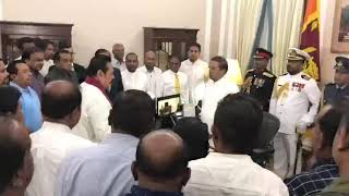 Mahinda Rajapaksa sworn in as PM
