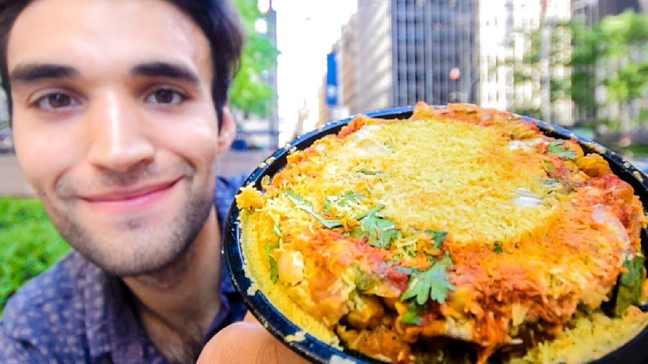 LIVING on INDIAN STREET FOOD for 24 HOURS!