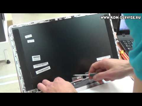 Замена матрицы ноутбука  HP Pavilion M6.