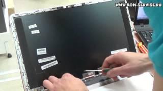 Замена матрицы ноутбука  HP Pavilion m6.(, 2014-05-08T10:53:39.000Z)