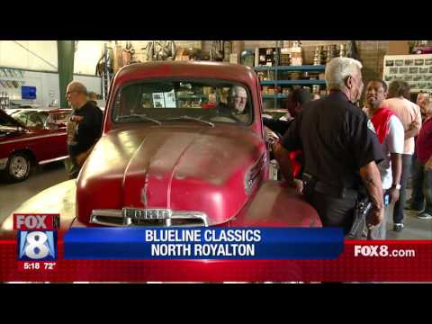 Sanford and Son cast reunites after 40 years with the actual truck at BLUELINE CLASSICS