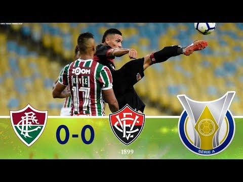 Melhores Momentos - Fluminense 0 x 0 Vitória - Campeonato Brasileiro (06/09/2018)