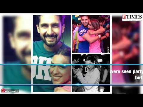 Jamai Raja co-stars Ravi Dubey and Nia Sharma reunite at a party