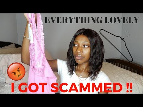 I GOT SCAMMED !! |EVERYTHING LOVELY/CYMONNES TRY-ON HAUL | NOT WHAT I EXPECTED !! 😡