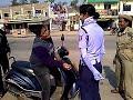 Traffic police funny boy video, Odisha funny video