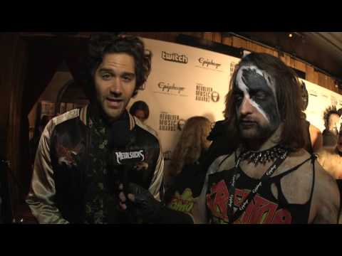 GOOD TIGER Interview, Revolver Golden Gods Awards 2016 Black Carpet | MetalSucks