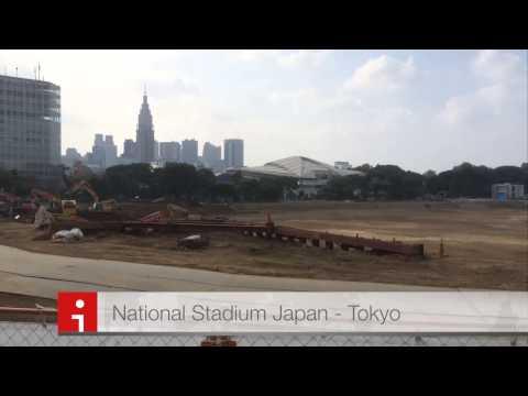 The National Stadium Japan