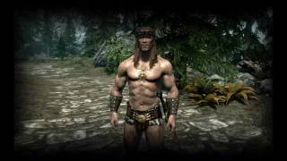 Skyrim: The  Birth of  the Antlantean Sword (Conan the Dragonborn)