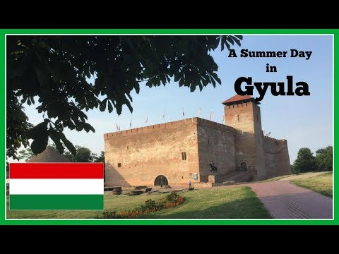 A Summer Day in Gyula, Hungary | Travel Video