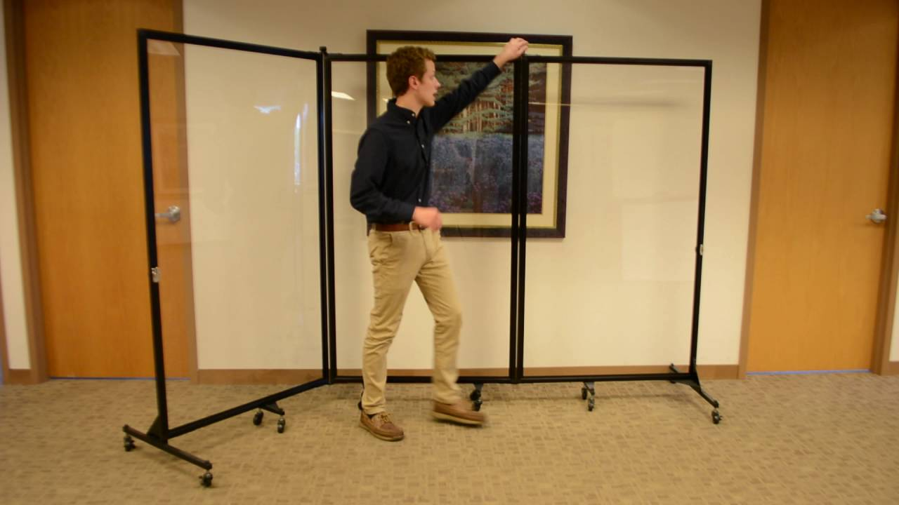 Screenflex Clear Room Dividers YouTube