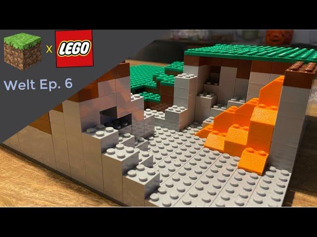 LEGO® X Minecraft World #6 - Die Höhle entsteht (Achtung: heiße Lava)