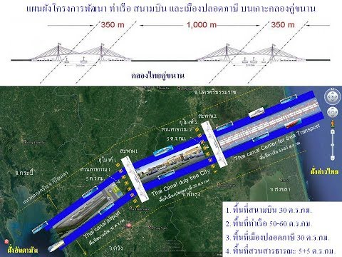 คลองไทยใช้ทุนสร้างท่าเรือจะประหยัดกว่าสิงคโปร์ 5 เท่า