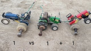 Tractor Model Tochan (1 vs 2)