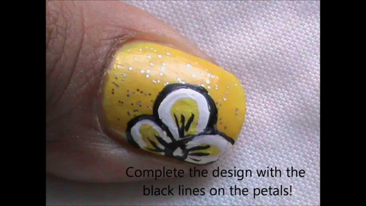 Short nails nail art designs step by step at home youtube prinsesfo Choice Image