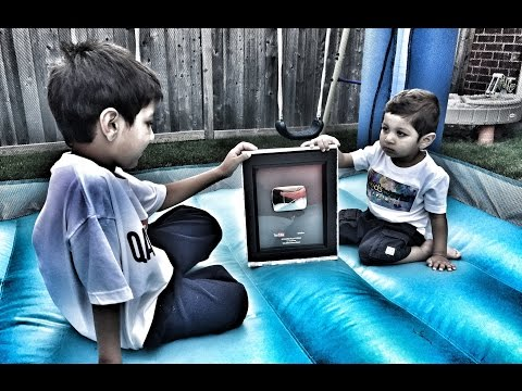Video for Kids to Watch: 100000 SUBSCRIBERS YouTube Silver Play Button