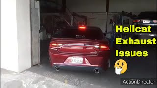 New Hellcat Exhaust System//Active Exhaust Issues