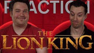 Lion King - Teaser Trailer Reaction