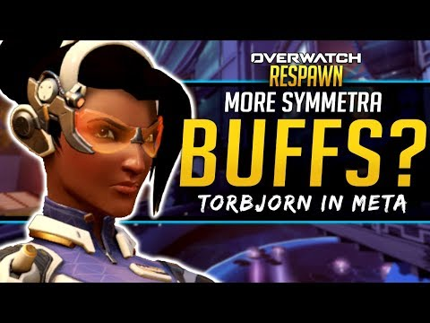 Overwatch Respawn #26 - More Symmetra Buffs? Torbjorn in Meta? thumbnail