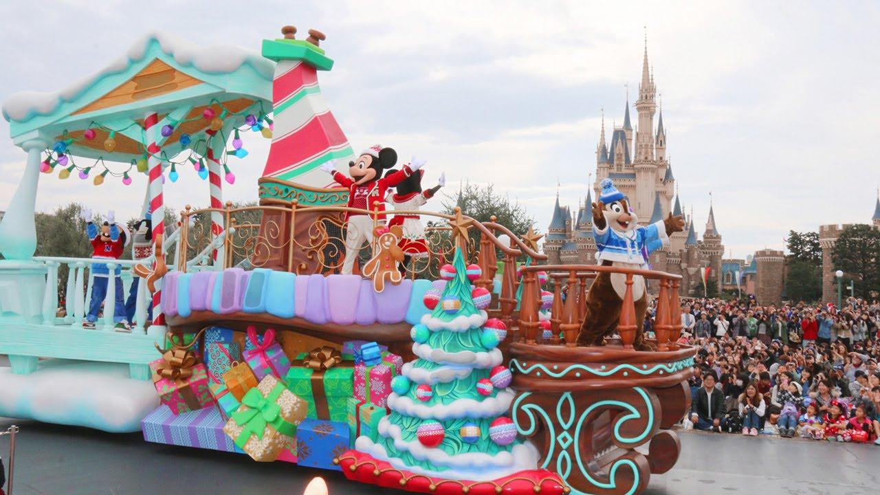 東京ディズニーリゾートのクリスマスイベント!「ディズニー