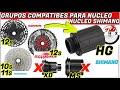 Gambar cover GRUPOS 1X10,1X11 Y 1X12 DE SHIMANO,SRAM Y SUNRACE COMPATIBLES PARA NUCLEO SHIMANO/ CICLISMO, BICI