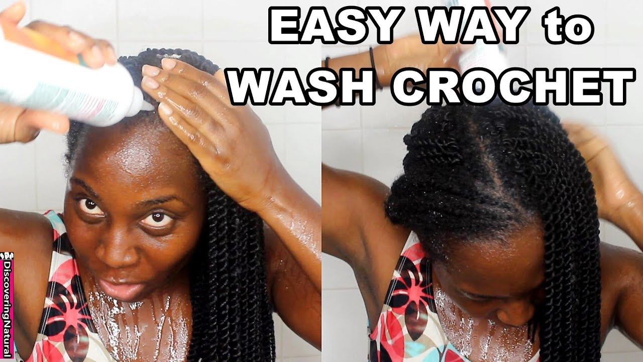 How To Wash Crochet Braids And Twists Itchy Scalp Discovering