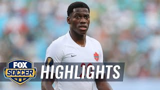 Jonathan David's hat trick gives him Golden Boot lead | 2019 CONCACAF Gold Cup Highlights