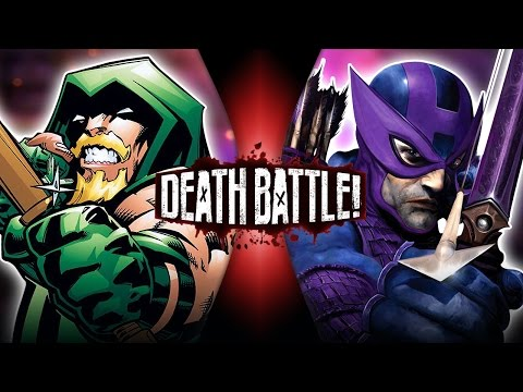 Green Arrow VS Hawkeye | DEATH BATTLE!