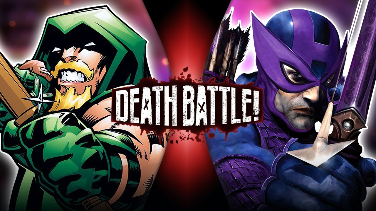 Green Arrow Vs Hawkeye Dc Vs Marvel Death Battle