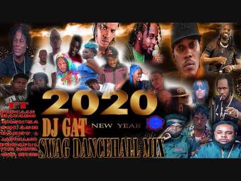 DANCEHALL MIX 2020 RAW DJ GAT NEW YEAR SWAG MIX VYBZ KARTEL MASICKA TOMMY LEE JAVILLIANI 876899-5643