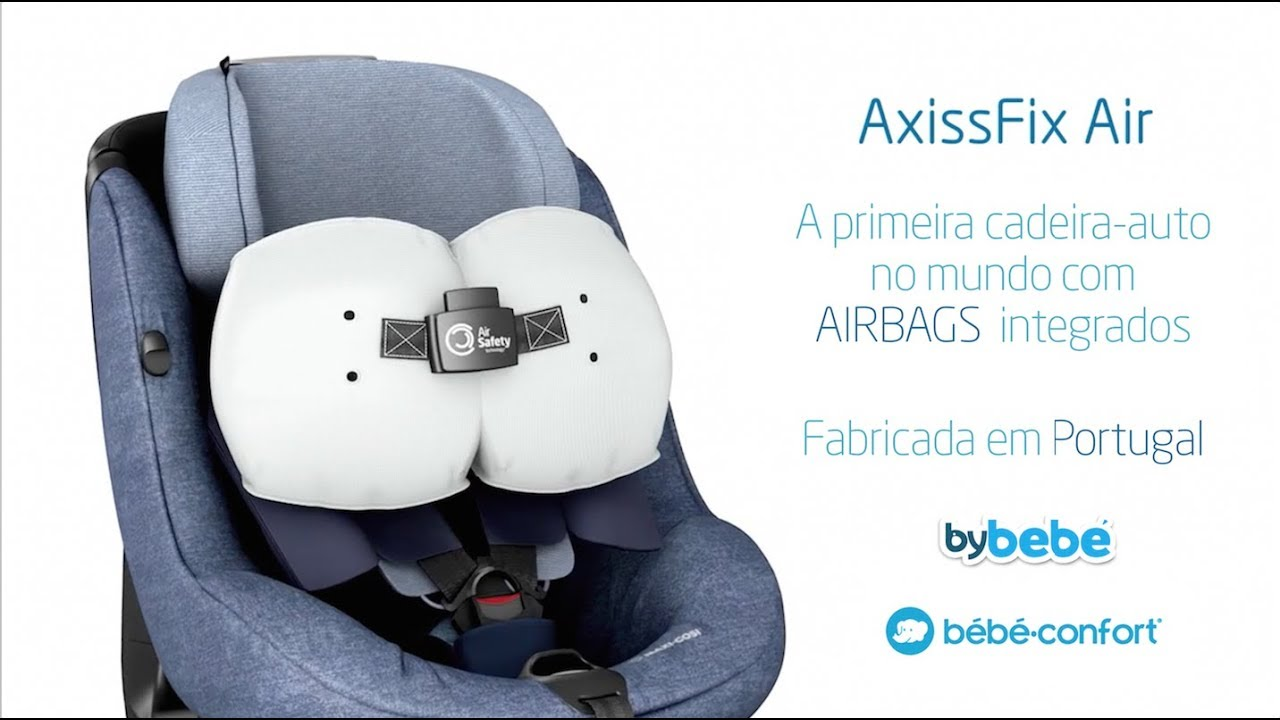 cadeira auto b b confort axissfix air na bybeb youtube. Black Bedroom Furniture Sets. Home Design Ideas