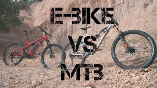 Electric MTB Vs. Traditional MTB. Commencal Meta shoot out