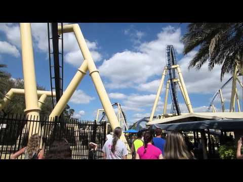Falcon's Fury Construction Update At Busch Gardens Tampa Florida!!! (3.20.14)
