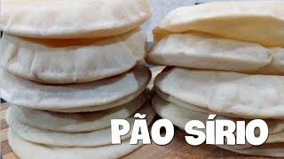 COMO FAZER PÃO SÍRIO (POR FERNANDO COUTO)
