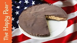 How to make a Giant Peanut Butter Cup - The Happy Pear Recipe