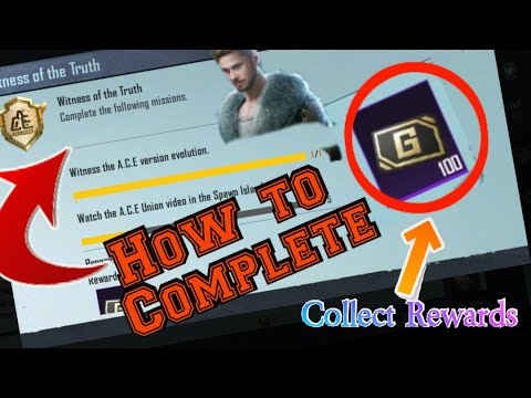 Download Witness of the Truth   ACE evolution   PUBG MOBILE    New Event