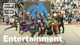 High School Dance Team Does Epic 'Marvel Avengers' Routine | NowThis