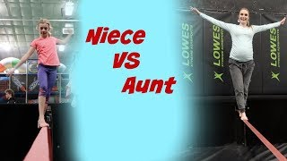 Niece VS Aunt || Family Vlog