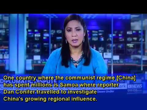 SAMOA - Australia worried about China's Aid to Samoa and Pacific