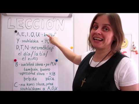 Hola amigos - 4. lekce španělštiny s misionářkou