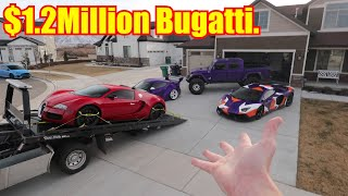 Download Bugatti Veyron DELIVERED to my House! Mp3 and Videos