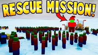 LEGO RESCUE MISSION! SAVE THE CHILDREN! - Brick Rigs Gameplay - Lego Zombies! - User Creations